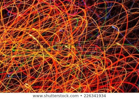 Long Exposure of Multicolored Fireworks Stock photo © Frankljr