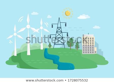 ekologiczny · odpadów · wolna · podróży · lądowanie · strona - zdjęcia stock © rastudio