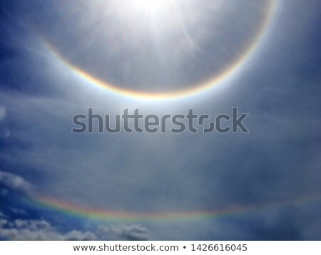 Rainbow around the sun Stock photo © 5xinc