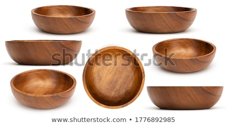 Vide traditionnel arts de la table Asie bols Photo stock © dash