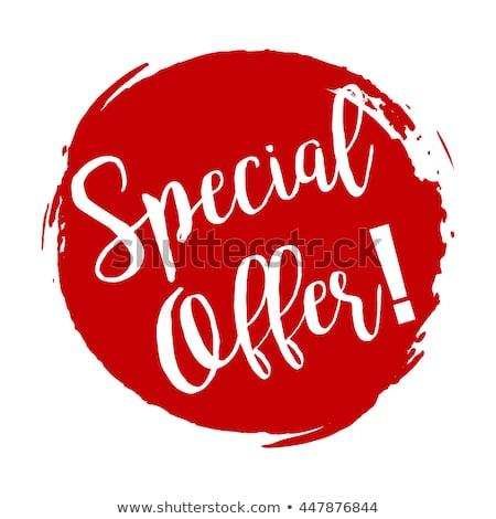 Speciale promozione offrire caldo prezzo naturale Foto d'archivio © robuart