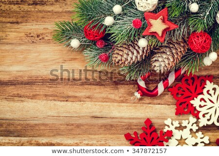 Karácsony falak terv fagy szoba kapualj Stock fotó © Kotenko