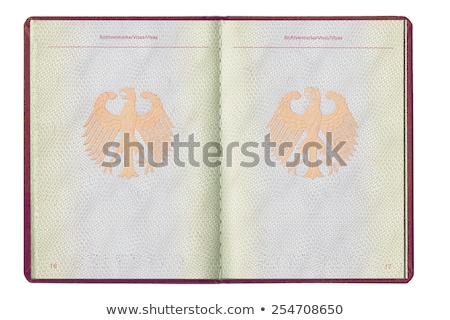 inside of a passport stock photo © bluering