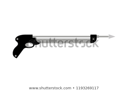 Fishing Harpoon Icon Closeup Vector Illustration Stock photo © robuart
