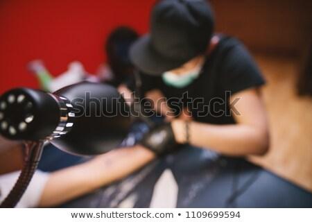 man · tattoo · arm · stijlvol · horloge - stockfoto © ruslanshramko