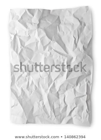 doku · beyaz · kâğıt · tam · kare · soyut · dizayn - stok fotoğraf © inxti