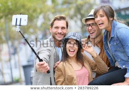 グループの人々 ·  · 画像 · スマートフォン · 夏 · 休日 - ストックフォト © dolgachov