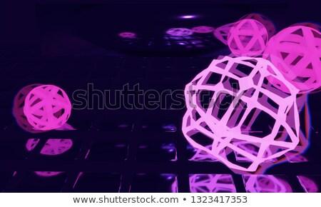 Streszczenie kule wiele mały 3D muzyki Zdjęcia stock © Ustofre9