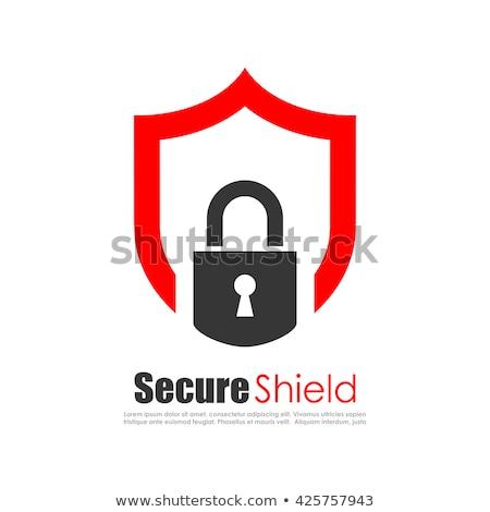 красный безопасности веб технологий ярко Сток-фото © alexaldo