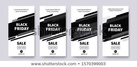 Black friday prijs reductie badges web Stockfoto © robuart