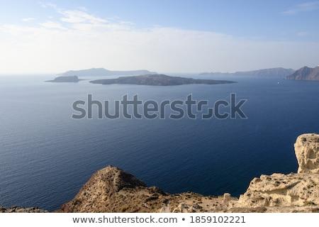 Stock fotó: Uninhabited Picturesque Island