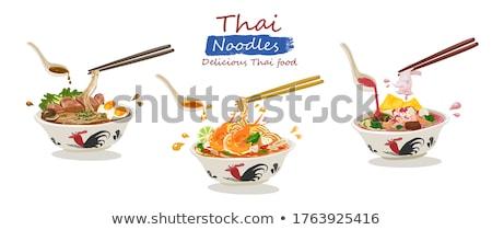 vector of noodle ストックフォト © olllikeballoon