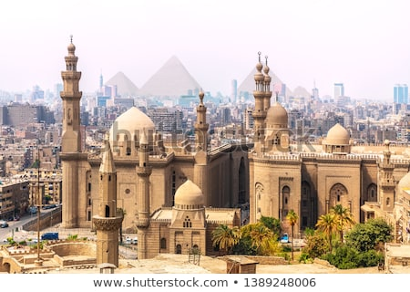 Giza city In Pyramid  Stock photo © Givaga