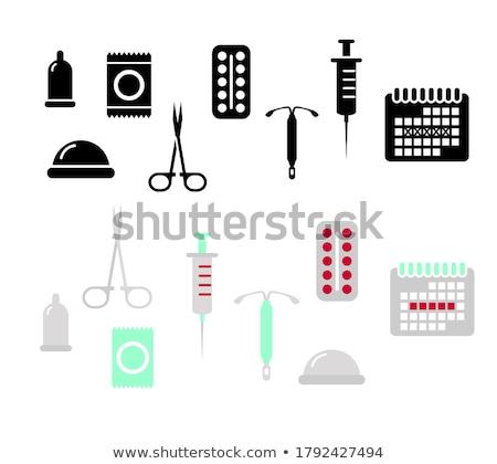 contraception day set stock photo © netkov1