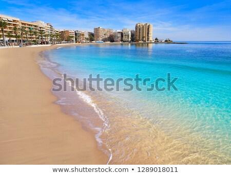 Playa del Cura in Torrevieja, Spain Stock photo © amok