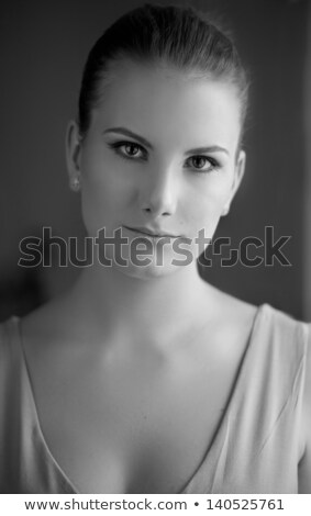 Glamour portret mooie vrouw model vers dagelijks Stockfoto © serdechny