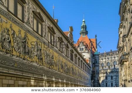Furstenzug (English: Procession of Princes) in Dresden, Germany Stock photo © borisb17