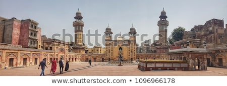 Courtyard in Lahore Fort stock photo © lichtmeister