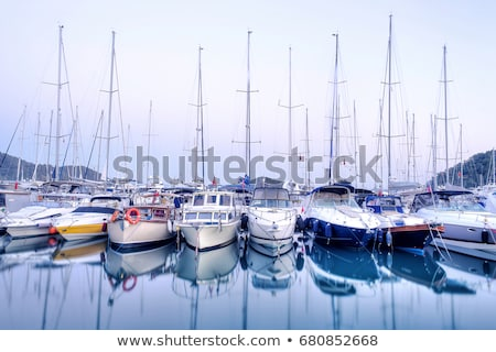 Molo jacht klub wody lata Zdjęcia stock © galitskaya