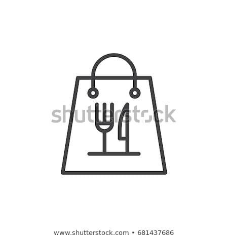 cardboard take away food box paper pack vector stock photo © pikepicture