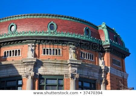 Színház Quebec város Kanada színpad történelem Stock fotó © Lopolo