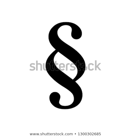 White Paragraph Symbol Stock photo © AndreyPopov