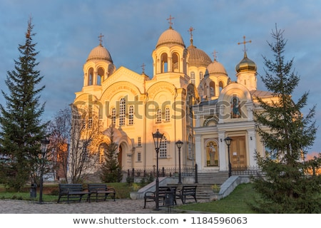 St. Nicholas Monastery, Russia Stock photo © borisb17