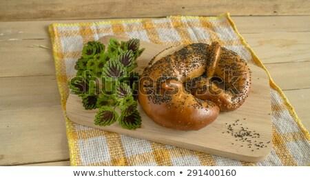 Salatini papavero semi tradizionale Foto d'archivio © grafvision