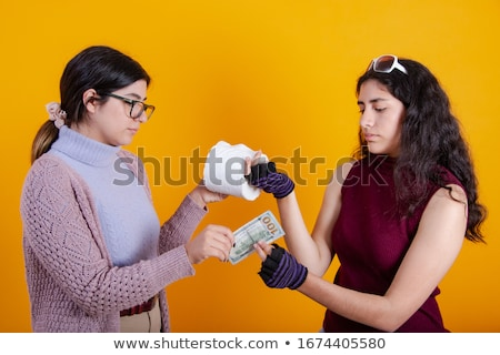 Stock photo: Toilet Paper Price During Coronavirus Panic