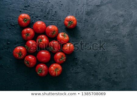 Top vers Rood tomaten nat Stockfoto © vkstudio