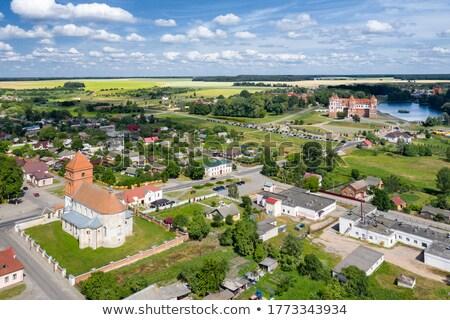 мнение Беларусь Церкви дерево пейзаж лет Сток-фото © borisb17