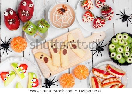 Хэллоуин сыра пластина элегантный Сток-фото © furmanphoto