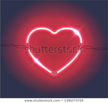 vector · San · Valentín · árbol · eps · archivo · hoja - foto stock © beholdereye