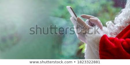 lány · telefon · otthon · nők · technológia · szépség - stock fotó © pressmaster