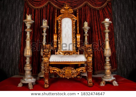 fantasy throne Stock photo © ancello