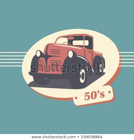 Stock fotó: 50s Styles Pickup