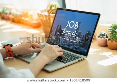 женщину · потеряли · компьютер · технологий · деловая · женщина · многие - Сток-фото © smithore