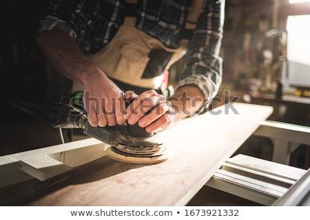 fabricante · marco · dedo · trabajo · fondo · empresario - foto stock © stocksnapper