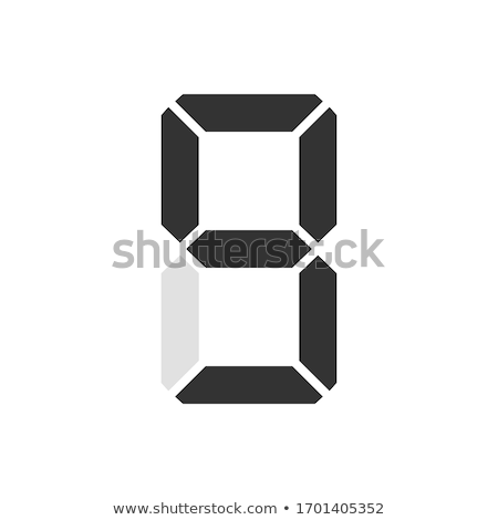 Neon Sign Number Seven Stock photo © creisinger