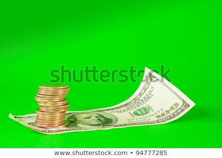 pièces · dollar · Bill · concepts · argent - photo stock © andreykr