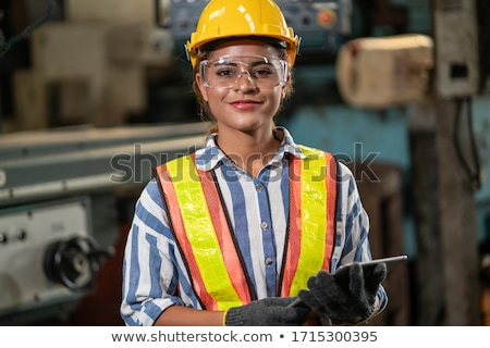 woman construction worker stock photo © photography33