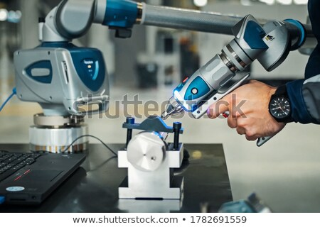 electrician with coil and drill stock photo © photography33