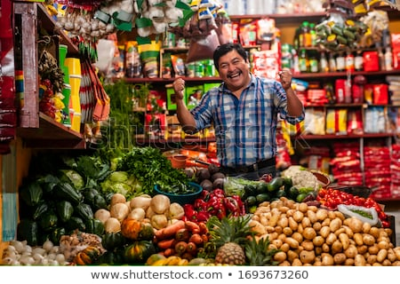 vegetable seller Stock photo © photography33