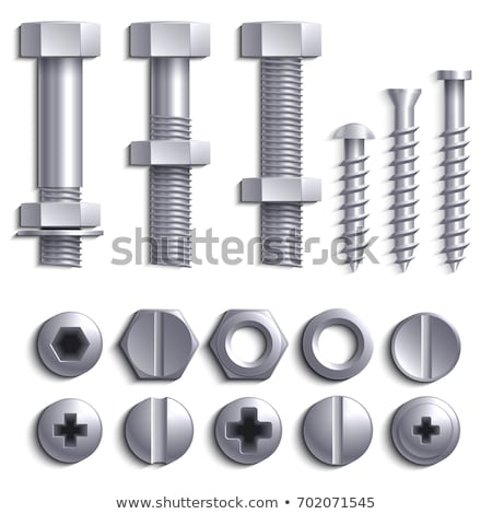 bolts and nuts stock photo © pzaxe