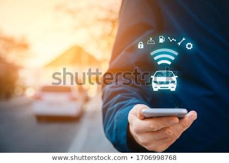 Vehicle security Stock photo © papa1266