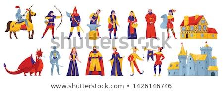 騎士 · 剣 · 古い · 城 · 中世 · 戦士 - ストックフォト © vadimmmus
