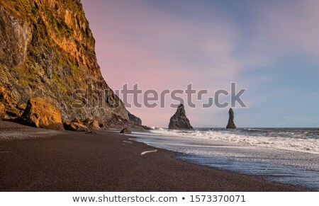 Volcanic Rock Formation near the Ocean Stock photo © wildnerdpix