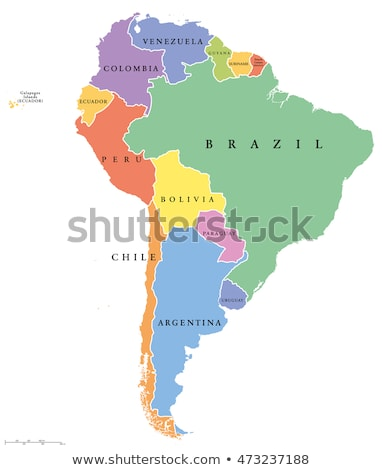 South america map Suriname Stock photo © Ustofre9