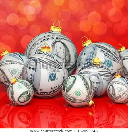 Vacaciones Navidad ventas sombrero forma Foto stock © Lightsource