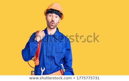 Shocked electrician Stock photo © photography33